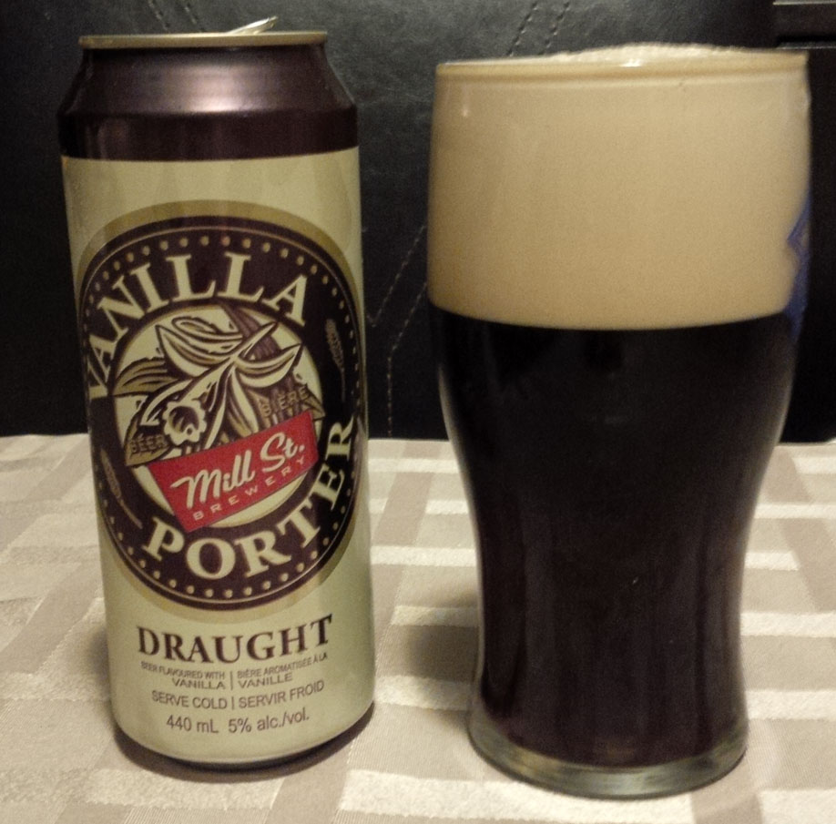 Import Craft Beers – Mill Street Brewery Vanilla Porter | West Coast