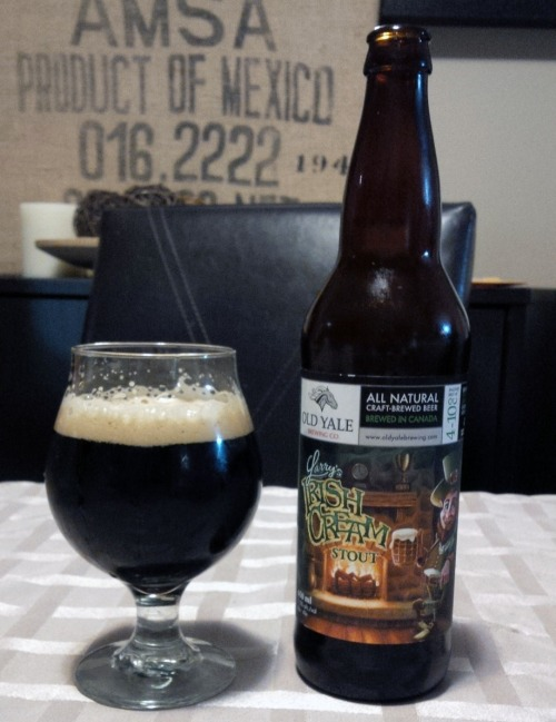 Old Yale Brewing Larry's Irish Cream Stout