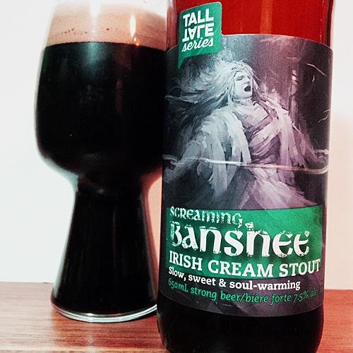 Old Yale Brewing Screaming Banshee Irish Cream Stout