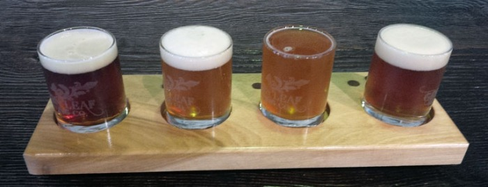 Green Leaf Brewing Sampler Tray
