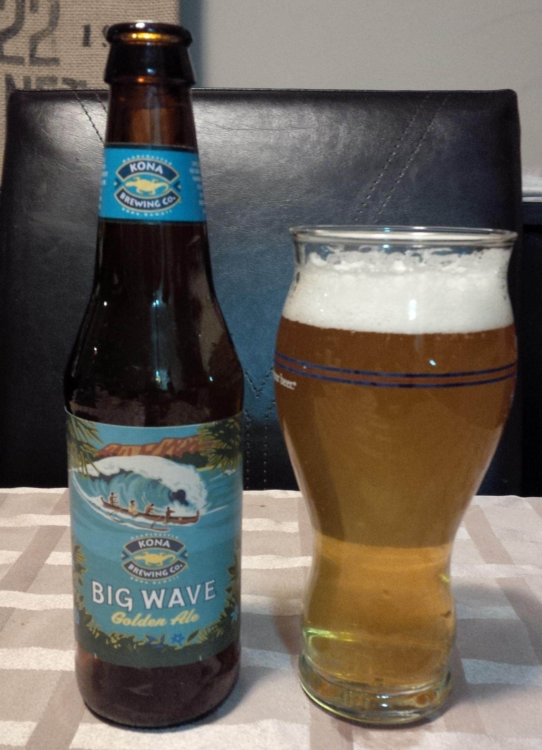 Big Wave Ale Glass