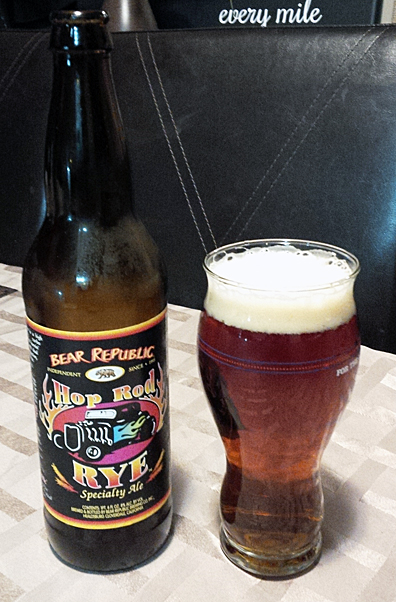 Bear Republic Hop Rod Rye Specialty Ale