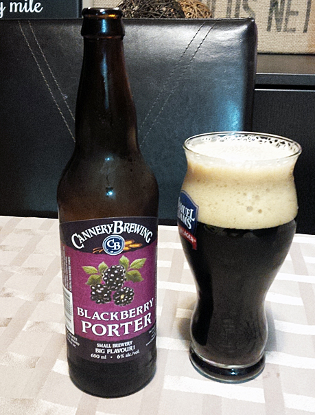 Cannery Brewing Blackberry Porter
