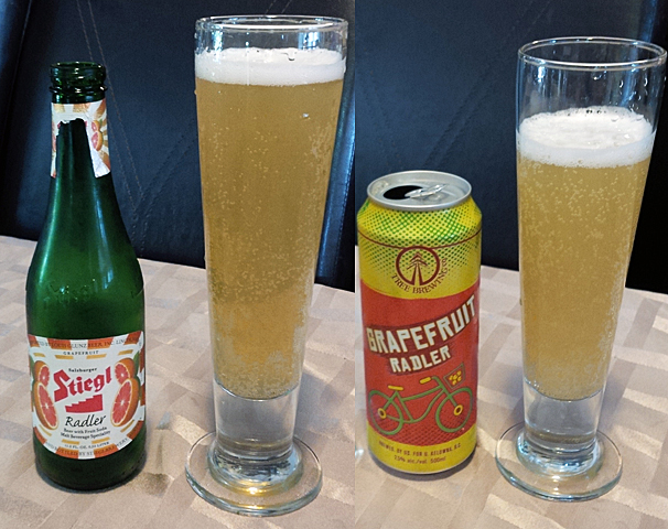 Grapefruit Radler's