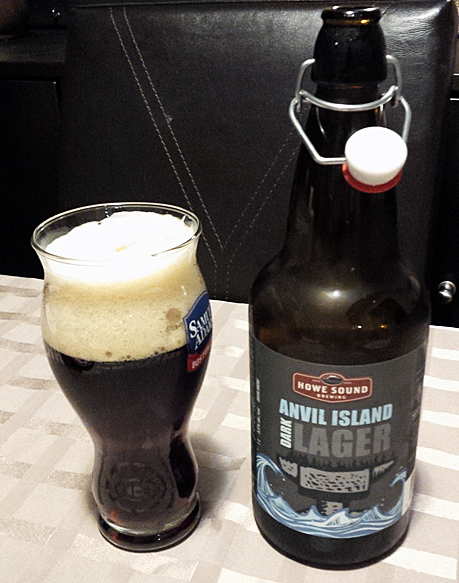 Howe Sound Anvil Island Dark Lager