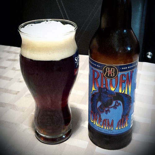 R&B Raven Cream Ale