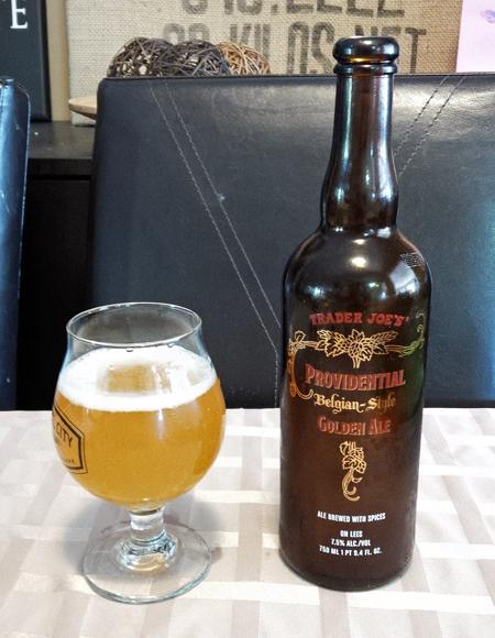 Trader Joes - Providential Belgian Golden Ale
