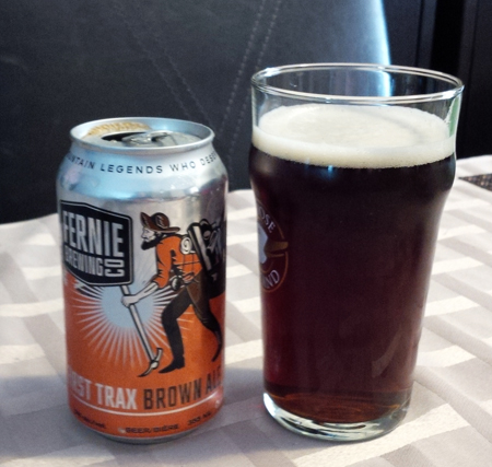 Fernie Brewing First Trax Brown Ale