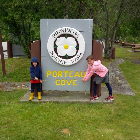 Porteau Cove Sign