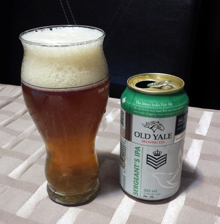 Old Yale Brewing Sergeants IPA