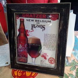 New Belgium and Three Floyds Collaboration, enough said it was delicious