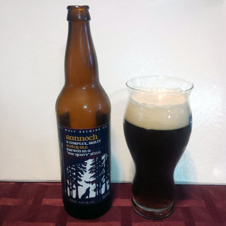 Wolf Brewing Scotch Ale