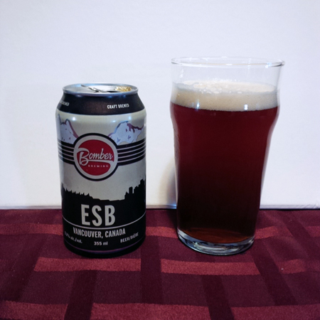 Bomber Brewing ESB