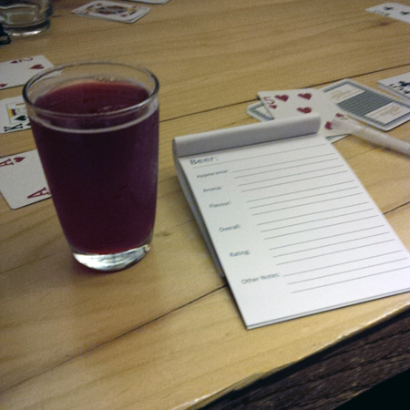 Changeling Raspberry Sour
