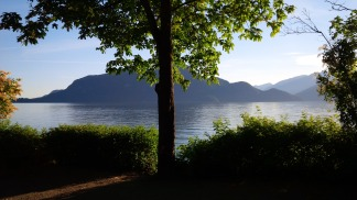 View upon arrival at Porteau Cove