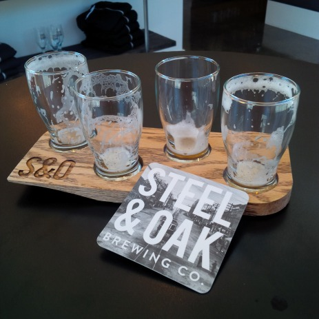 Steel & Oak - The finished work