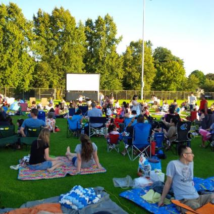 Family Movie Nigh in Queens Park