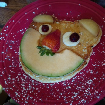 Kids Pancakes on Harris Avenue Cafe