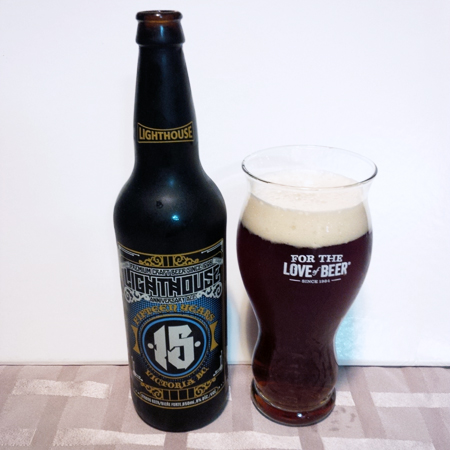 Lighthouse Brewery 15 Year Anniversary Ale