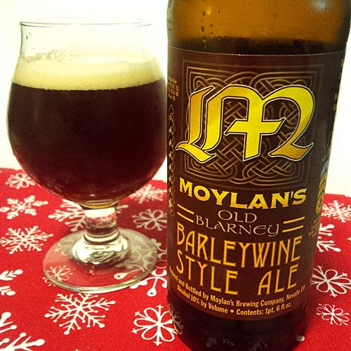 Moylan's Old Blarney Barleywine v2