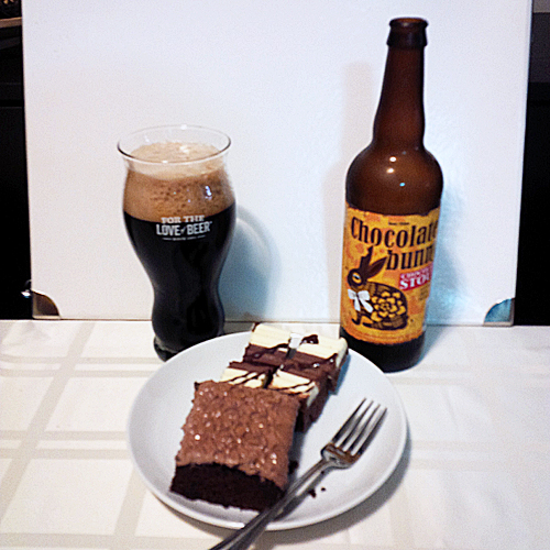 Craft Beer Pairing - Chocolate Stout & Chocolate Cake