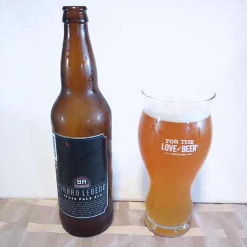 Granville Island Brewing Urban Legend IPA