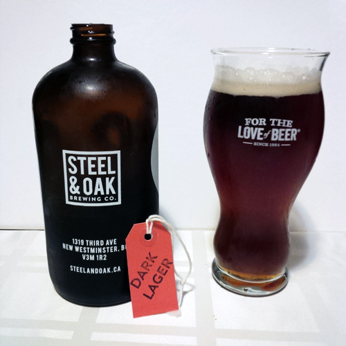 Steel & Oak Dark Lager