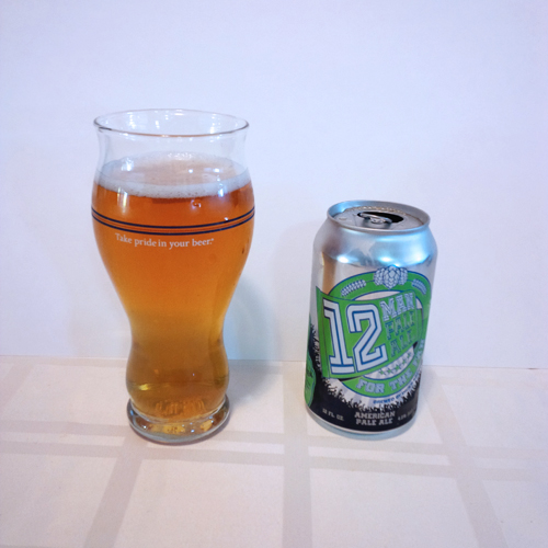 Dicks Brewing 12 Man Pale Ale