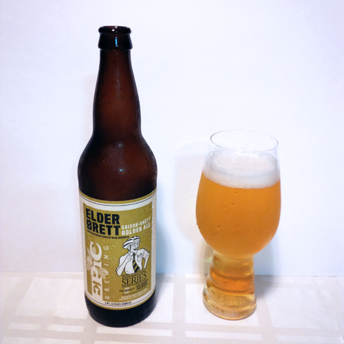 Epic Brewing Elder Brett - Saison Brett Golden Ale