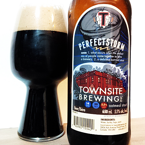 Townsite Brewing Perfect Storm Oatmeal  v2