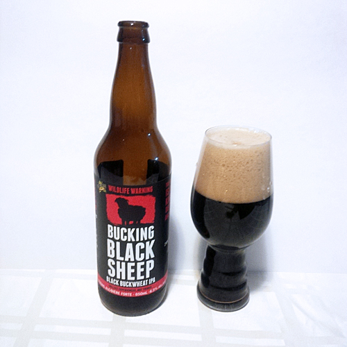 Dead Frog Bucking Black Sheep Buckwheat IPA