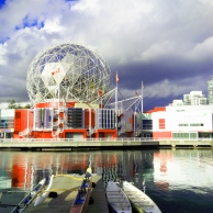 TELUS World of Science, on the walk from transit