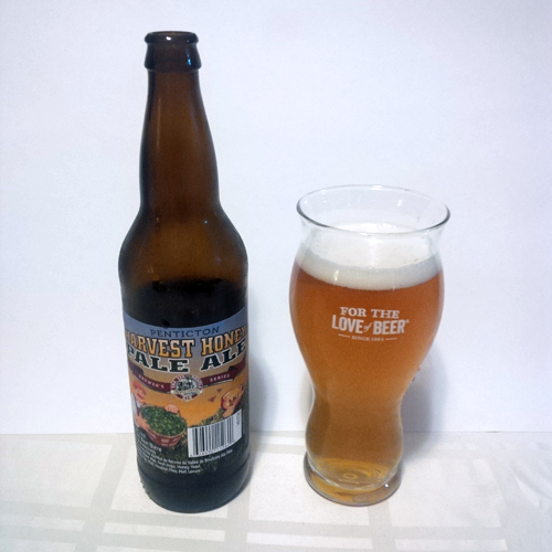 Tin Whistle Penticton Harvest Honey Pale Ale