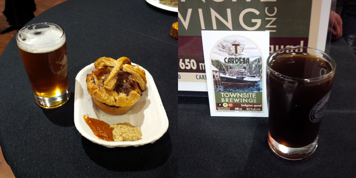 Best in Show For me - Scotch Egg Pie (left) and Townsite Cardena (right)