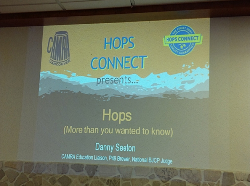Hops by Danny Seeton (P49) and a guy from Hops Connect