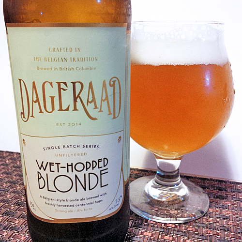 Dageraad Blonde Wet Hopped Version
