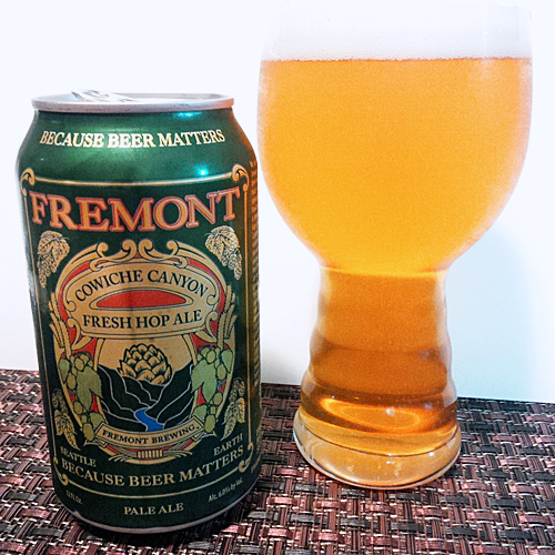 Freemont Cowiche Canyon Fresh Hop