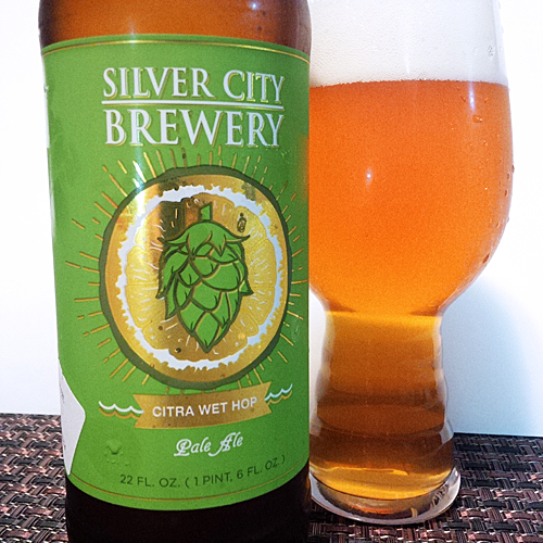 Silver City Brewery Citra Wet Hop Ale