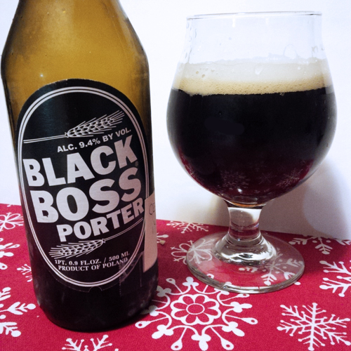 Brower Witnica Black Boss Porter