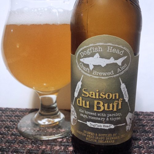 Dogfish Head Saison du Buff