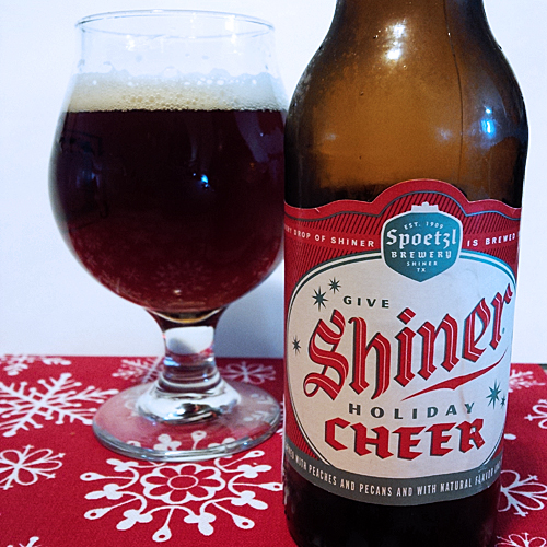 Spoetzl Shiner Holiday Cheer
