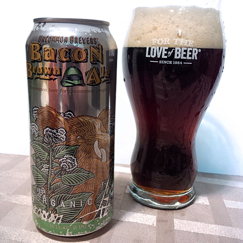 Uncommon Brewers Bacon Brown Ale