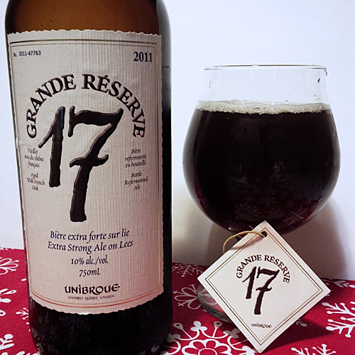 Unibroue Grand Reserve 17 2011