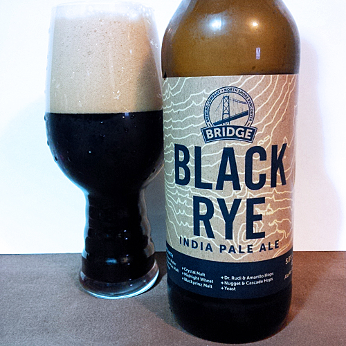 Bridge Brewing Black Rye IPA