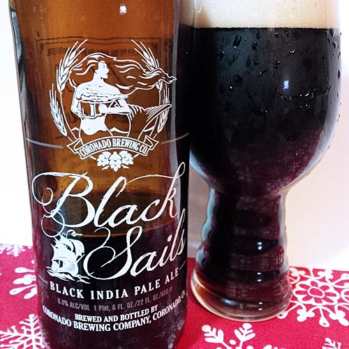 Coronado Brewing Black Sails IPA