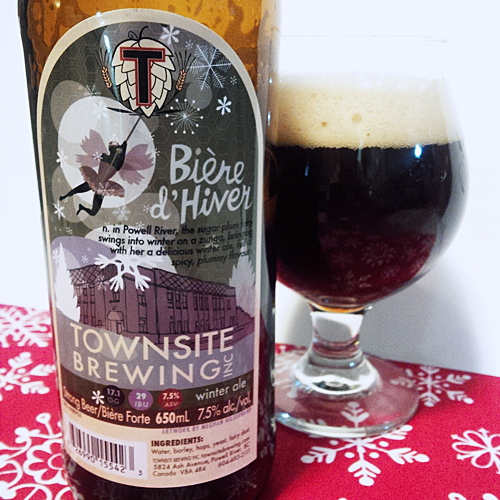 Townsite Brewing Perfect Biere d'Hiver