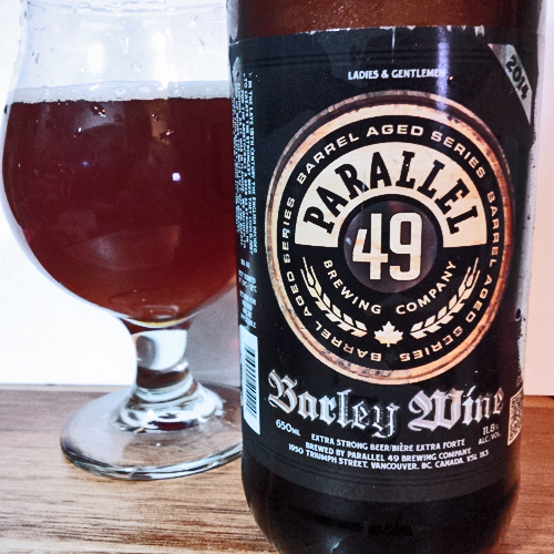 Parallel 49 Barleywine 2014