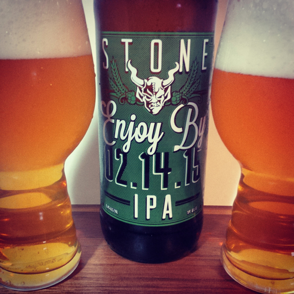Stone Enjoy By 02-14-15 IPA