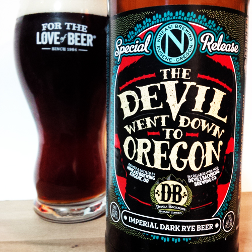 Ninkasi Devil Went Down to Oregon