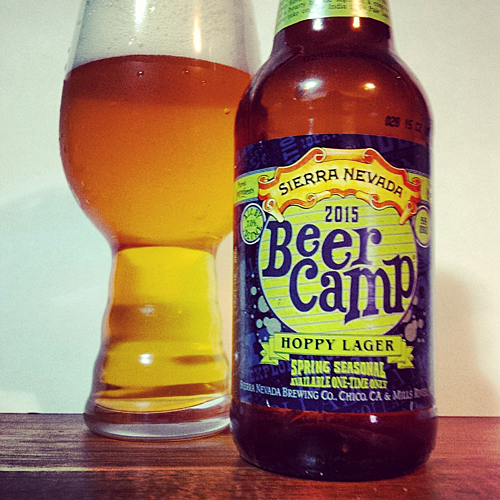 Sierra Nevada 2015 Beer Camp Hoppy Lager